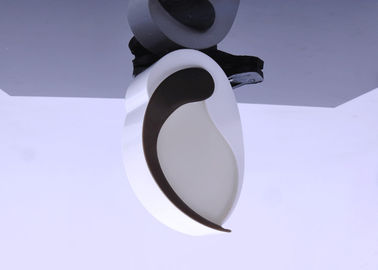 120V 60HZ Light Activated Night Light Putih Dan Warna Hitam Ramah Lingkungan